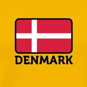 National Flag Of Denmark - Men's Premium T-Shirt