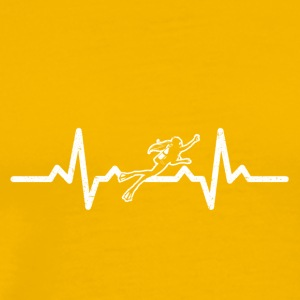 My heart beats for diving - Men's Premium T-Shirt