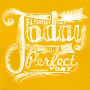 today is perfect white - Men's Premium T-Shirt