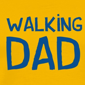 Vierdaagse Nijmegen 2017 - Walking Dad BLUE - Men's Premium T-Shirt