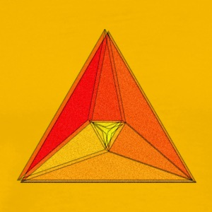 Enzoma - gradient in the triangle - Men's Premium T-Shirt