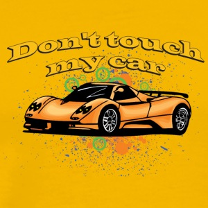 Don t touch my car - Men's Premium T-Shirt