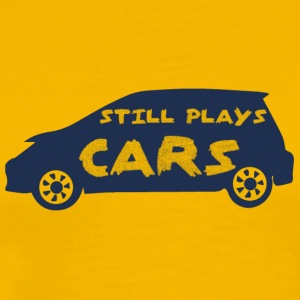 Mechanic: Still Plays Cars - Men's Premium T-Shirt