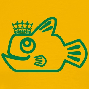 Blockfish King - Men's Premium T-Shirt