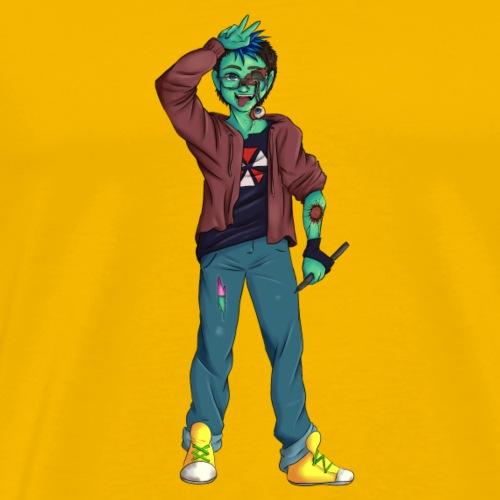 Kreativ Zombie - Männer Premium T-Shirt