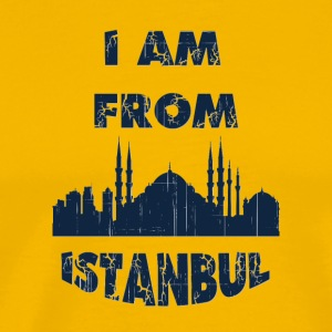 Istanbul I am from - Men's Premium T-Shirt