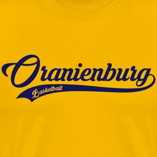 Oranienburg Schriftzug - Männer Premium T-Shirt