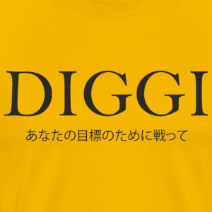 Diggi - Fighting for your goals - Men's Premium T-Shirt