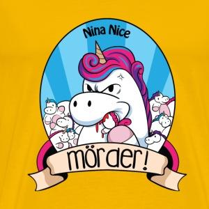 Murder Unicorn - Männer Premium T-Shirt
