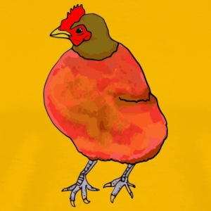 chicken206 - Premium-T-shirt herr