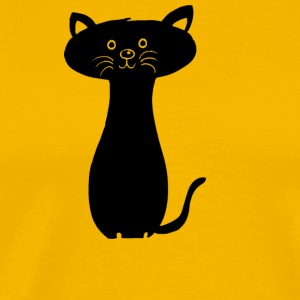 Sweed Kitty - Männer Premium T-Shirt