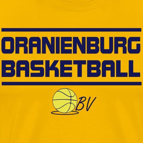 Oranienburg Basketball - Männer Premium T-Shirt