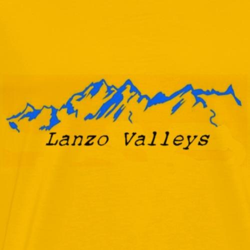 LanzoValley3Black - Maglietta Premium da uomo