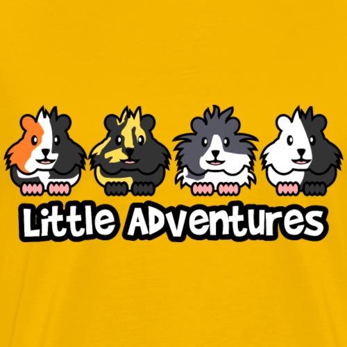 Little Adventures 4 Meerschweinchen - Männer Premium T-Shirt