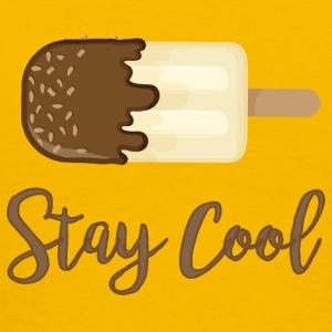 ICE CREAM STAY COOL - Herre premium T-shirt