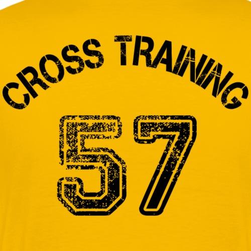 02 - Visuel dos - Cross training 57 - T-shirt Premium Homme