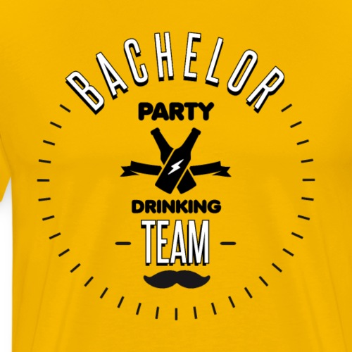 Bachelor party drinking team - T-shirt Premium Homme