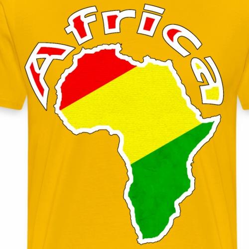 Afrika - rot gold grün