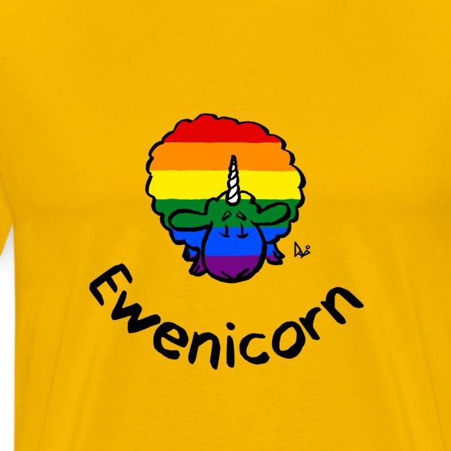 Rainbow Ewenicorn - c'est une brebis licorne! (texte)