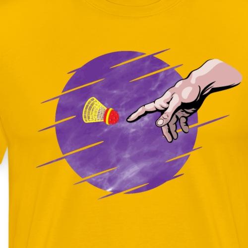 Le speedminton est une création divine! - Men's Premium T-Shirt