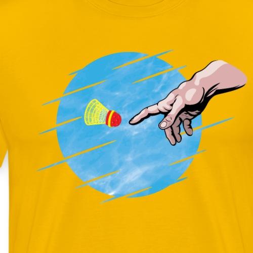 Crossminton, une divine création - Men's Premium T-Shirt
