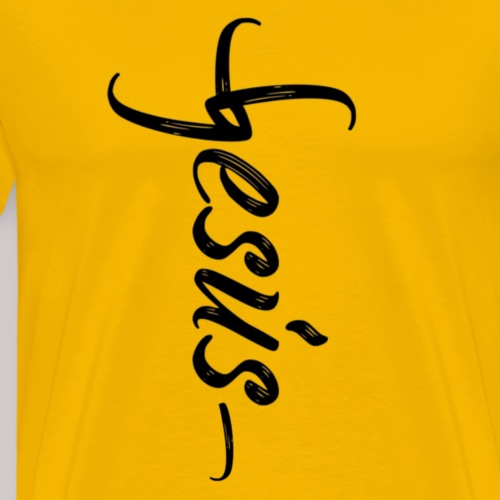 Al nombre de Jesús - Camiseta premium hombre