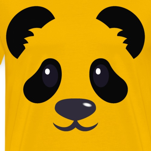 Panda émoticône - T-shirt Premium Homme