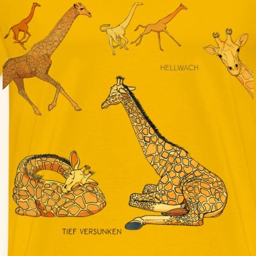 Giraffen - Männer Premium T-Shirt