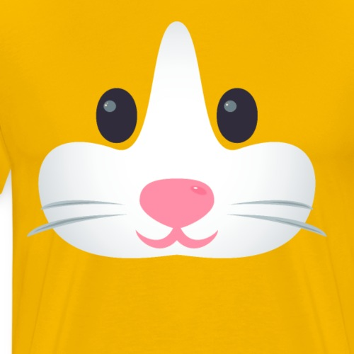 Emoticon Hamster - T-shirt Premium Homme