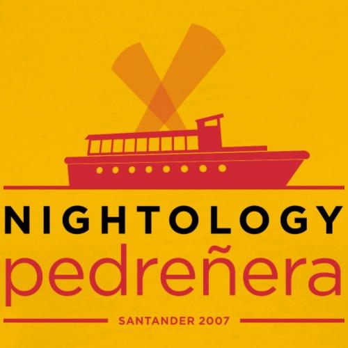 Nightología Pedreñera (colores claros) - Camiseta premium hombre