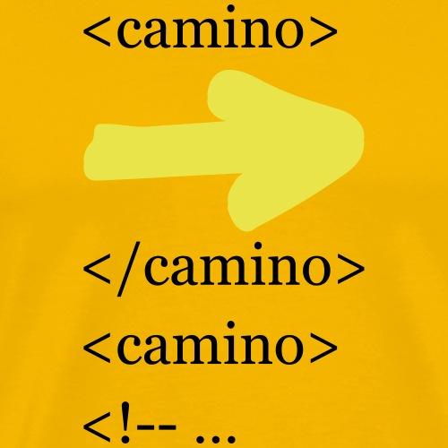 Camino Tag 001 - Männer Premium T-Shirt
