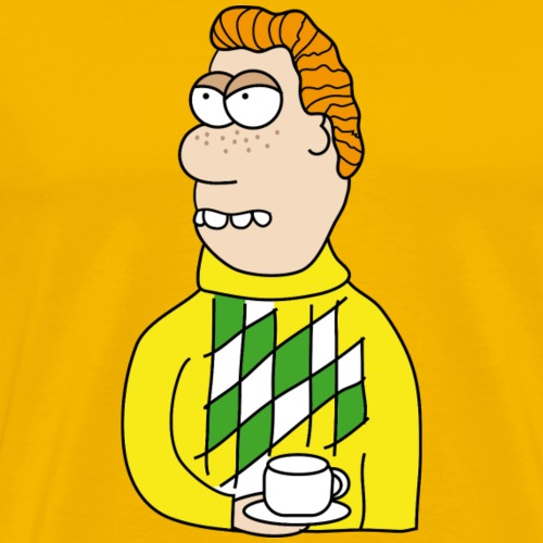 Tea Time - Männer Premium T-Shirt