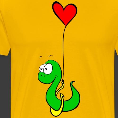 asticot amoureux - T-shirt Premium Homme