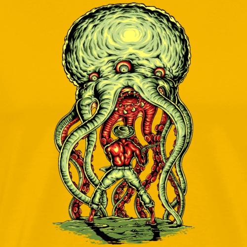 Außerirdischer Angriff - Männer Premium T-Shirt