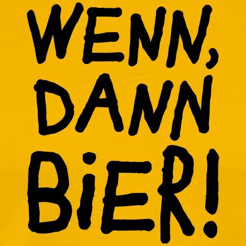 Bier Garten Grillmeister Sommer Party - Men's Premium T-Shirt