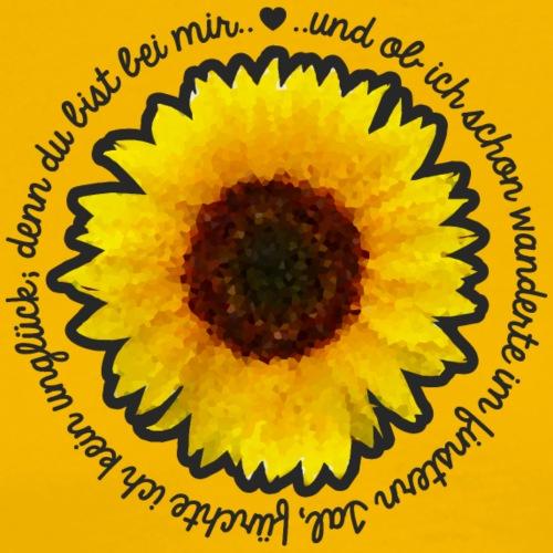 Sonnenblume - Männer Premium T-Shirt