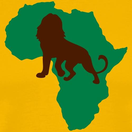 Afrika Löwe König der Tiere Lion Safari Abenteuer - Men's Premium T-Shirt