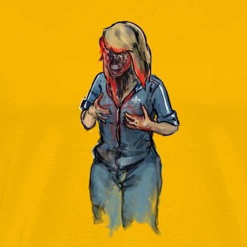 Zombie Mocking - Männer Premium T-Shirt