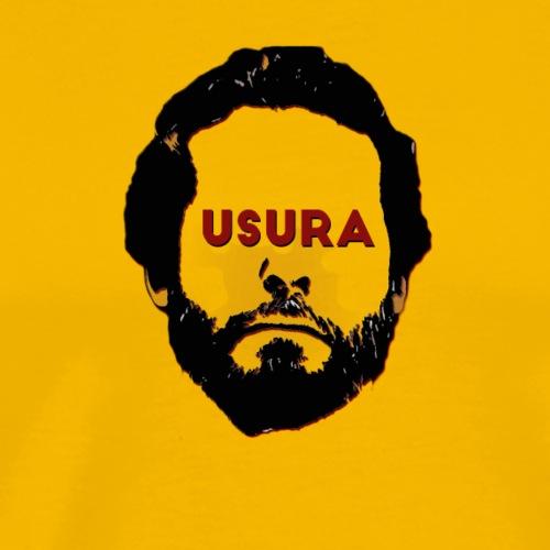 USURA - Maglietta Premium da uomo