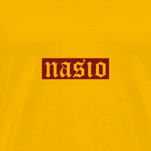 NasioDesignsOne - Camiseta premium hombre