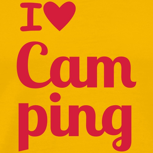 Cam ping - Männer Premium T-Shirt