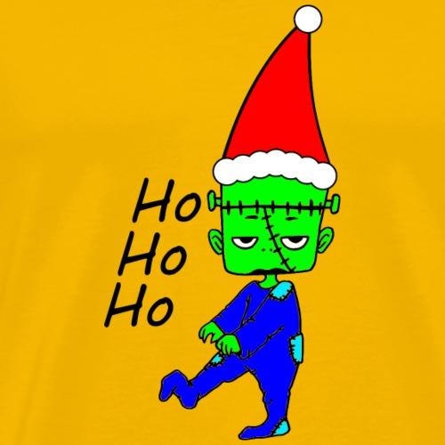 Frankensteins Weihnacht - Männer Premium T-Shirt