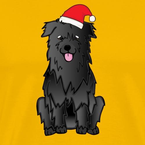 Weihnachtspyrshep schwarz - Männer Premium T-Shirt