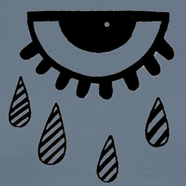 larmes oeil triste motif