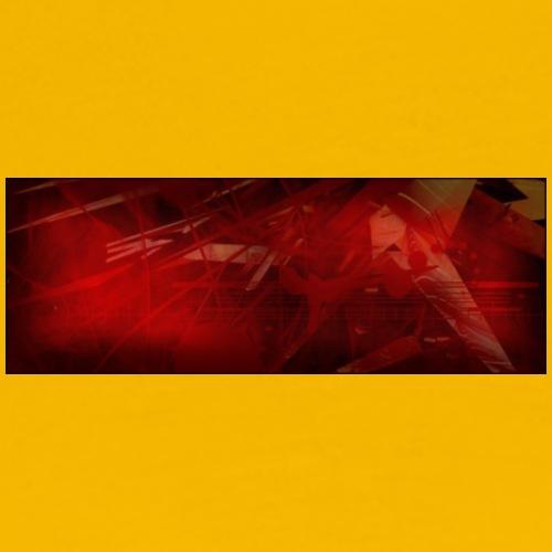 texture rouge - T-shirt Premium Homme
