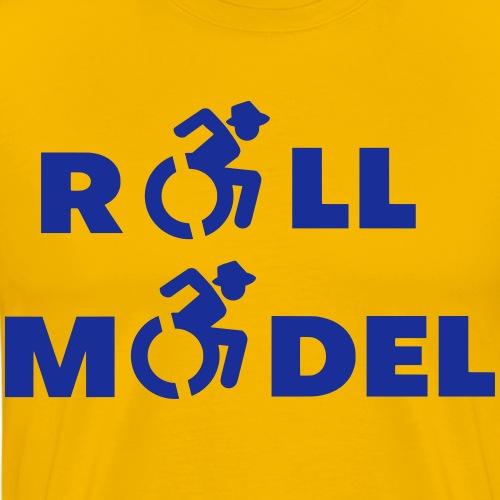RollModel5 - Mannen Premium T-shirt