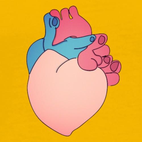 corazon - Camiseta premium hombre