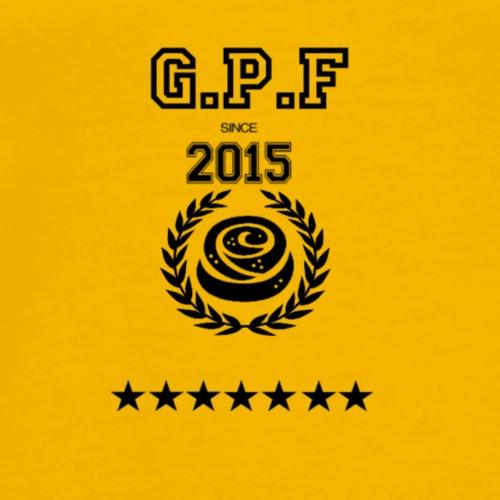 G P F 2017 Svart! - Premium-T-shirt herr