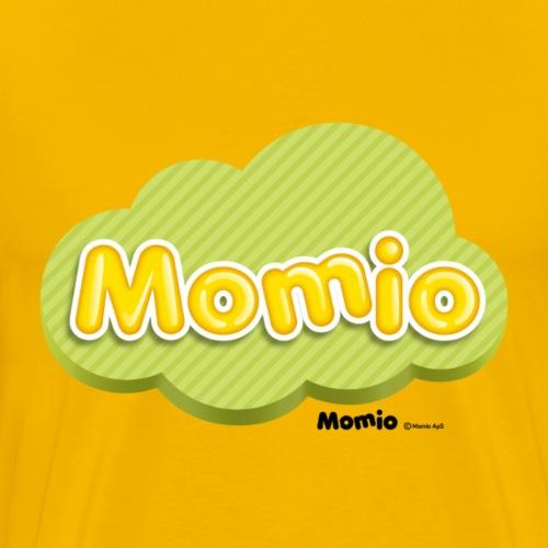 Momio-logo - Premium T-skjorte for menn