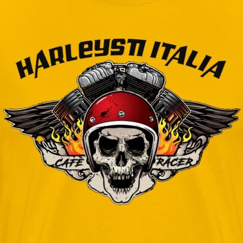 HARLEYSTI OLD LOGO BLACK by MESCAL - Maglietta Premium da uomo
